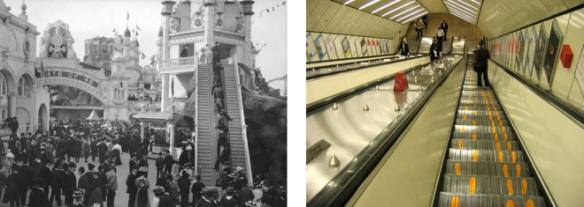 the first escalator