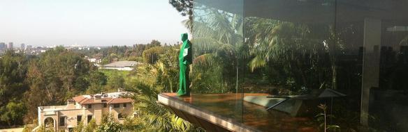 John Lautner's Sheat's Goldstein's House, diagnosed with apostrovitis. (Rachel Medvald.)