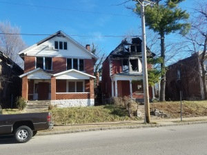 Two homes on Euclid Avenue
