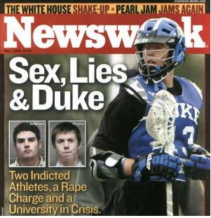 Duke lacrosse scandal sex team